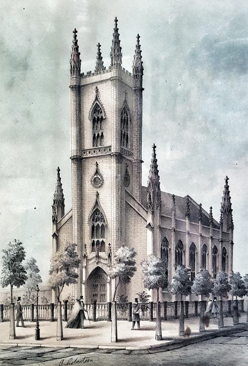 First Presbyterian Church of Albany – History